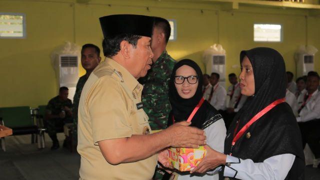 Bupati  Rohul Tutup  Pelatihan Dasar Cpns Formasi Umum 2018 Di Hotel Gelora Bhakti
