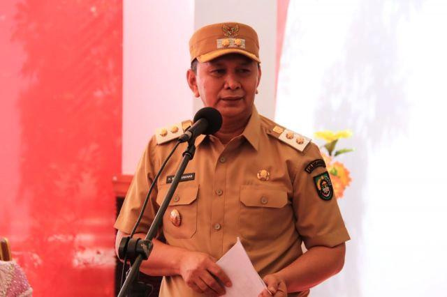 Komit Dukung Bupati H. Sukiman, Wabup Rohul : Satu Komando Ditangan Pak Bupati untuk Rohul Maju